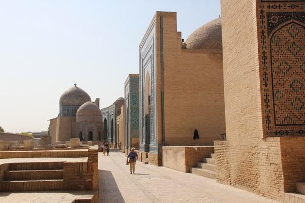 Shah i Zinda Avenue of Tombs